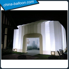 Event inflatable tent with led light, inflatable cube tents