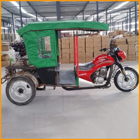 China Made Popular Passenger Transport Discapacitados Triciclo, Motorcycle Truck 3-Wheel Tricycle, Three Wheel Passenger Tricycl