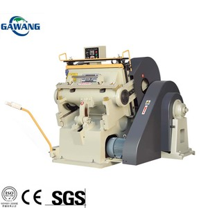 Lower Price Manual Guillotine Automatic Paper Die Cutting Machine