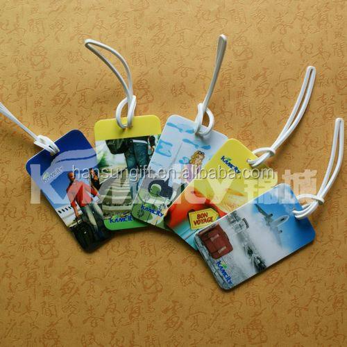 injection plastic material plastic wire tag for luggage
