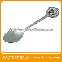 mini metal baby spoon