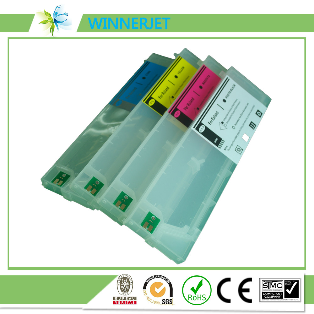 440ml Auto Reset Chip SS21 for Mimaki JV33 JV33-130 JV33-160 Refillable Ink Cartridges