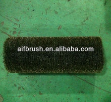 brass crimp roller brush /wheel for machine from china,wooden package