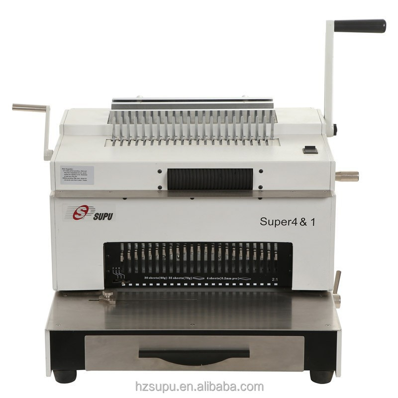 4 In 1 Easy To Operate Binding Machine With Cheap Price