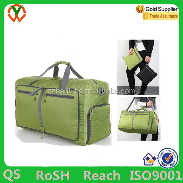 Duffle Luggage Travel Duffel Gym Sports Foldable Bag For Women & Men