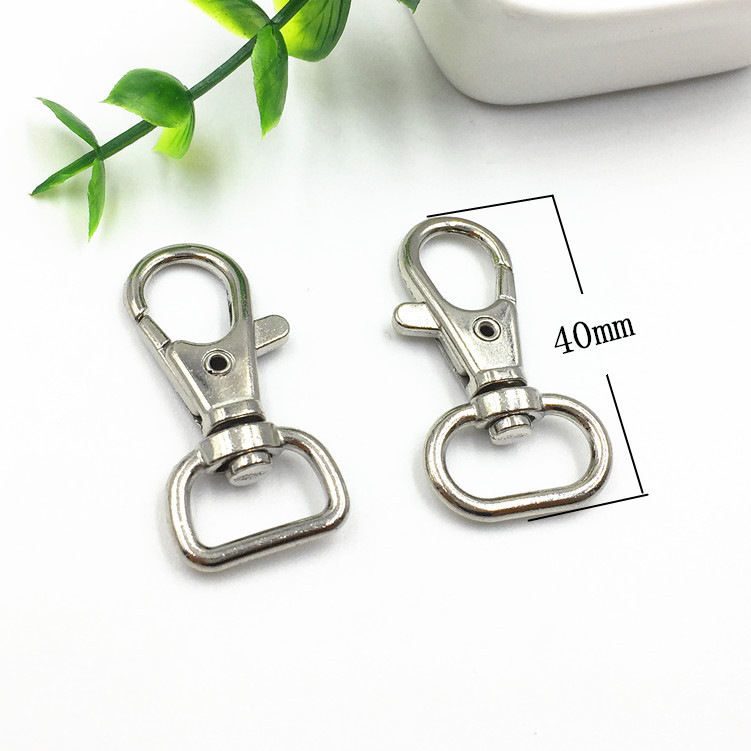 2019 hot sale wholesale silver/brass/gold stainless steel safety sling snap hook