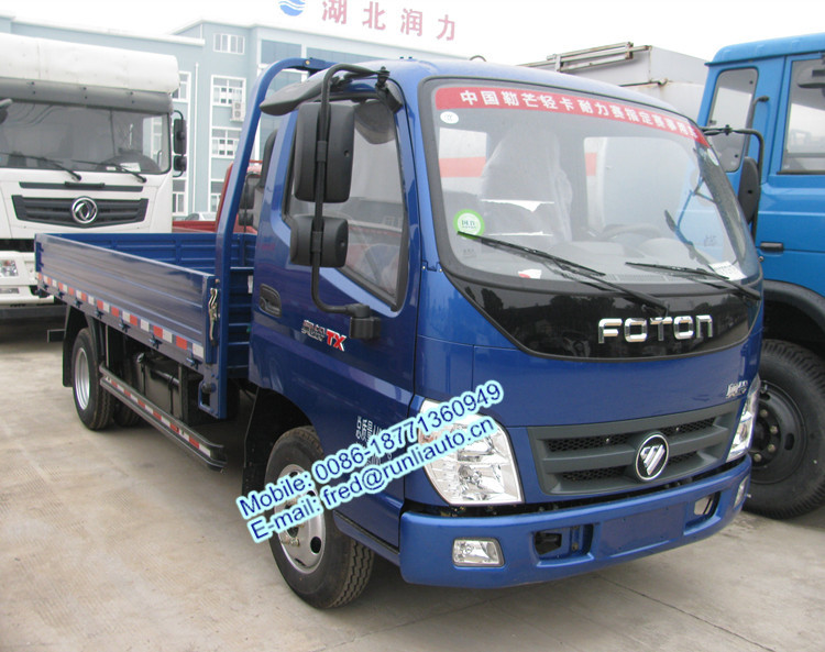 Foton Aoling 4x2 1.5 to 2.5 ton 3360 wheelbase small cargo truck for sale in Laos