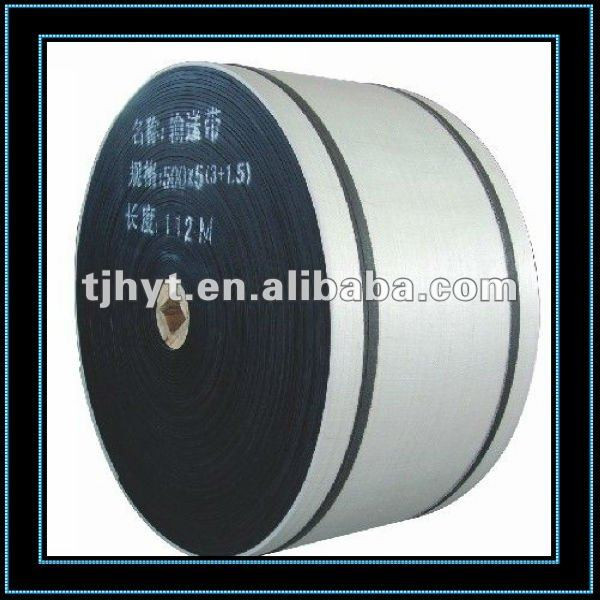 Excellent in oil resistant oil resistant Conveyor rubber belt