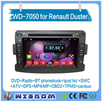 2016 Newest android 2 din car radio for Renault Duster/Logan/Sandero with gps car video with FM radios MP3 player BT 3g