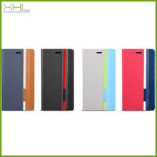 Mobile phone leather flip case for wiko ozzy