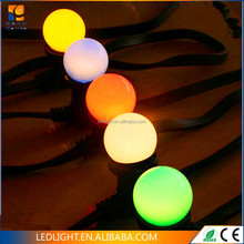 outdoor use High quality China supplier 2*0.75MM2 PVC cable E27 LED belt light for Christmas decoration waterproof IP65