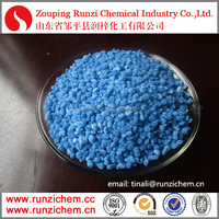 Zinc Sulphate heptahydrate colorful granular fertilizer use