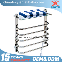 Sundries Use and Chrome Metal Type bathroom rack