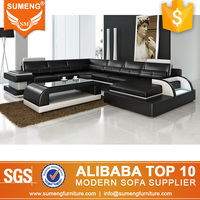 American love black and white pictures wood sofa furniture