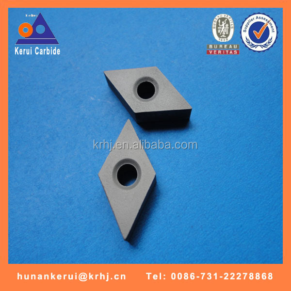 VCGW tungsten carbide insert blanks for making PCD , PCBN turning insert
