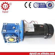 low inertia mini 24v dc gear reducer motor 15rpm,dc motor