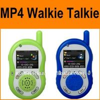 cheap two way radios Walkie talkie with mp3,mp4, voice recorder, FM