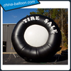 Giant advertising inflatable tire, inflatable tire model for event promotion