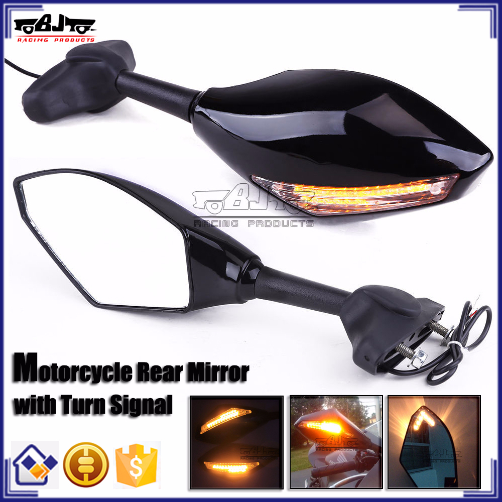 BJ-RM-016A Motorbike Mirror Turn Signal light for Yamaha YZF R3 R25