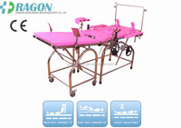 DW-OT09 portable exam table Commom obstric table for Medical Equipment