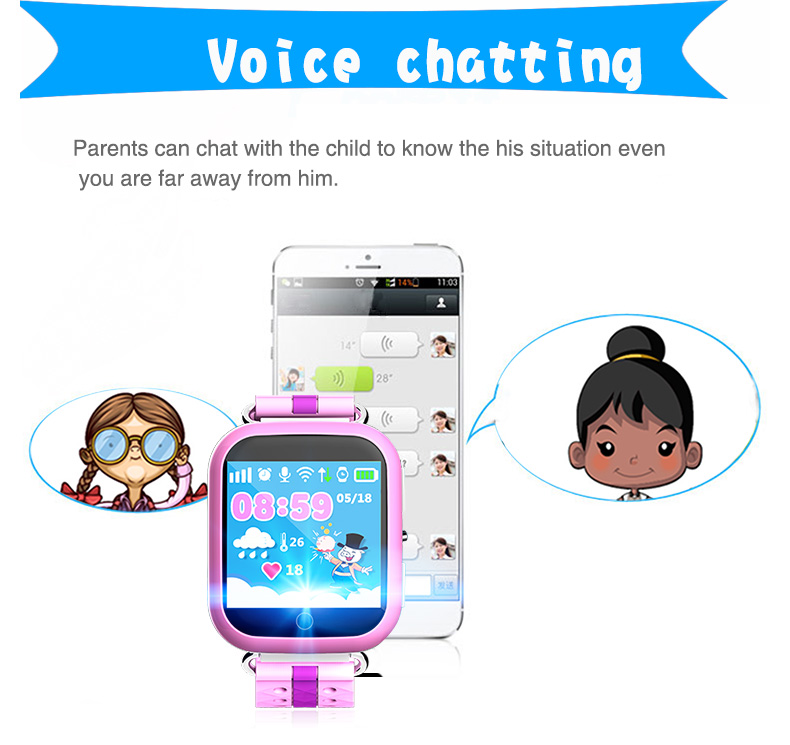 kids bracelet security watch children gps wrist watch smartwatch