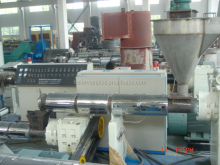 300kg/h waste plastic films pelletizing line