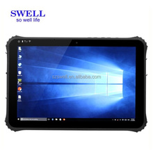 I22H personalizado impermeable Tablet PC RJ45 serial dual Boot teclado portátil con Touch ee.uu. 280 NIT pantalla Intel Z8300 <span class=keywords><strong>CPU</strong></span>
