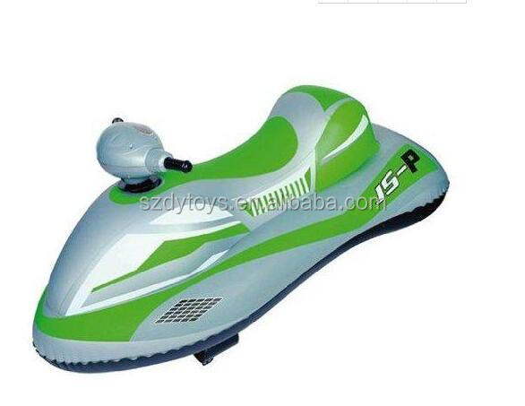 inflatable pvc electric bettery water motorboat jet ski