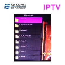 European French Russian channel IPTV subscription for one year 1300 + channels