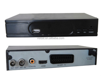 hot sales full hd 1080p DVB-T2 set top box support OEM