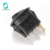 CQC 12V 16A LED Dot Light ON OFF SPST 3 Pins Car Boat Round Rocker Switch With LED