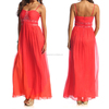 Women's Coral Beaded latest bridal gown designs evening dress price