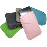 Customized multi-color leather mobile phone bag