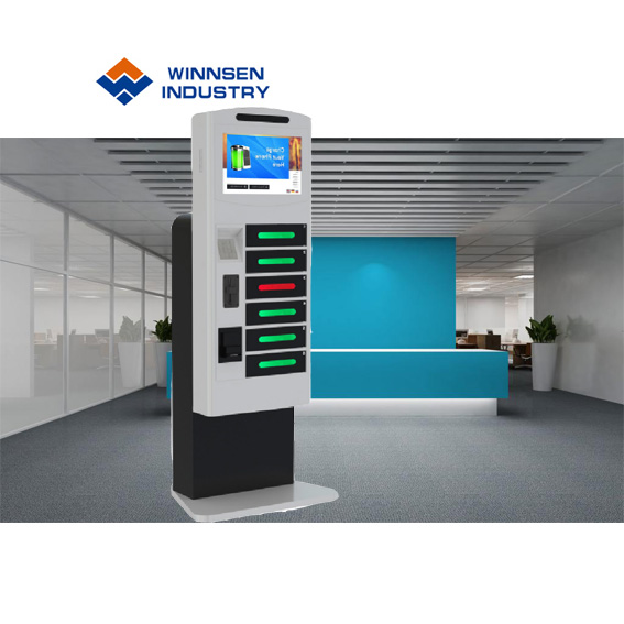 Mobile Phone Use and Electric,Kiosk Recharging Unit Type mobile phone charging station