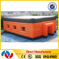 Large industrial temporary outdoor storage warehouse tent