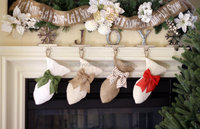 New design monogrammed christmas stockings personalized pet stockings