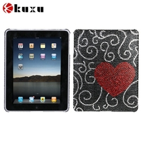 2016 hot new wholesale price high quality PU leather 360 degree rotating for iPad Air 2