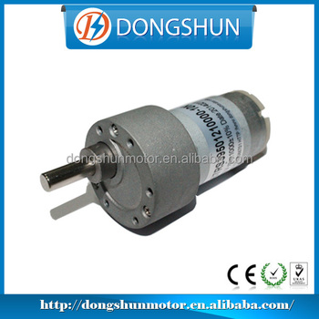Ds37rs395 24 Volt Direct Drive Electric Motor With Gear