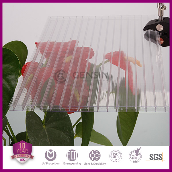 multiwall polycarbonate sheet for greenhouse