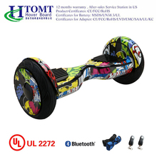 2017 new design self balancing scooter hoverboard 10 inch with Samsung battery