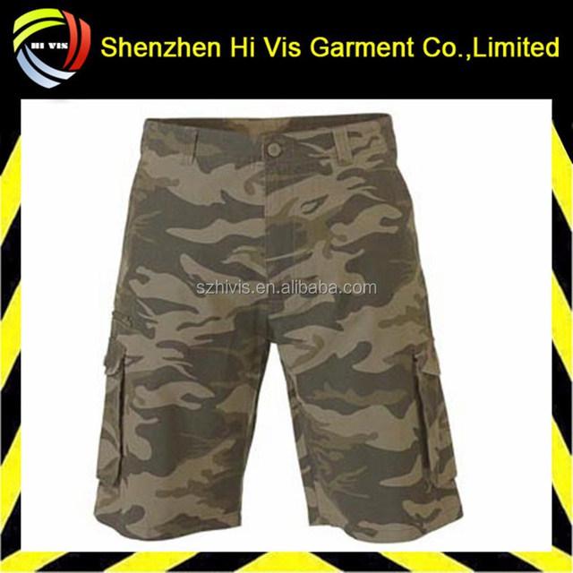 Fashion Men Camouflage Military Cargo Shorts Outdoor Cotton Casual Beach 3/4 Camo Shorts