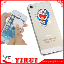 brand name animal logo mobile phone screen cleaner sticker