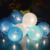 20 led clouds design Cotton ball christmas led light
