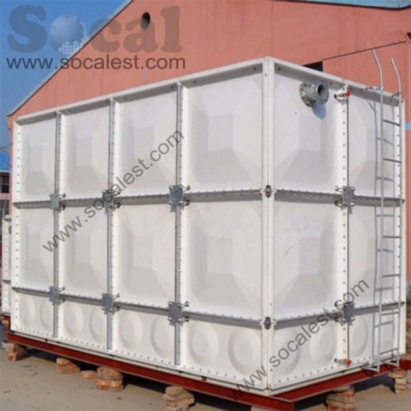 GRP SMC water storage tank glass reinforced plastic water tank
