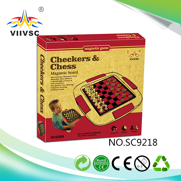 Factory sale strong packing leather chess board wholesale