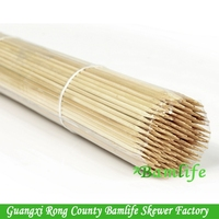 BBQ Bamboo hot dog skewers sticks