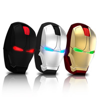 Iron Man ergonomic wireless mouse personality 4d gaming mouse creative wireless Bluetooth mouse