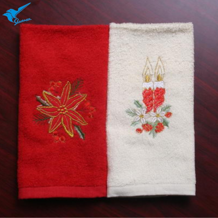 Water aborbent super soft christmas towels uk with best favorable price