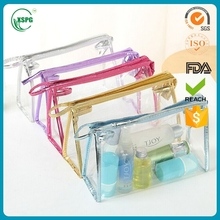 Clear professional makeup bags