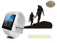 latest wrist watch mobile phone u8 smart bluetooth cheap smart watch